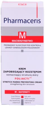 Pharmaceris M-Maternity Foliacti крем за тяло за профилактика на стрии 2