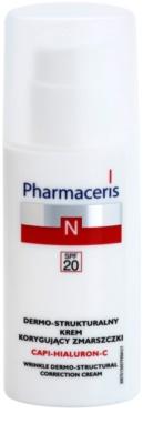 Pharmaceris N-Neocapillaries Capi-Hyaluron-C відновлюючий крем проти зморшок для чутливої шкіри схильної до почервонінь