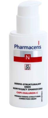 Pharmaceris N-Neocapillaries Capi-Hyaluron-C protivráskový krém obnovující hutnost pleti pro citlivou pleť se sklonem ke zčervenání 1