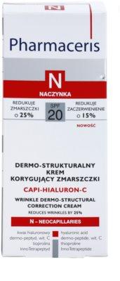 Pharmaceris N-Neocapillaries Capi-Hyaluron-C protivráskový krém obnovující hutnost pleti pro citlivou pleť se sklonem ke zčervenání 3