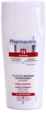 Pharmaceris N-Neocapillaries Puri-Capimil könnyű állagú tisztítótej az arcbőr megnyugtatására