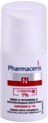 Pharmaceris N-Neocapillaries Capinion K 1% erősítő krém az elpattogott erekre a regeneráció felgyorsítására