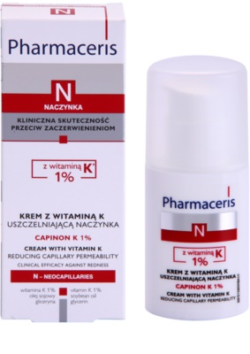 Pharmaceris N-Neocapillaries Capinion K 1% erősítő krém az elpattogott erekre a regeneráció felgyorsítására 3