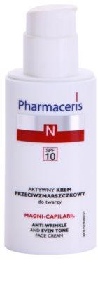 Pharmaceris N-Neocapillaries Magni-Capilaril odżywczy krem przeciwzmarszczkowy SPF 10 1