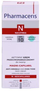 Pharmaceris N-Neocapillaries Magni-Capilaril odżywczy krem przeciwzmarszczkowy SPF 10 3