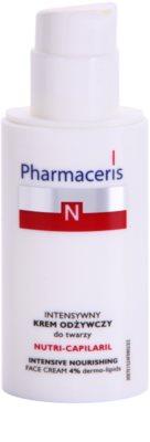 Pharmaceris N-Neocapillaries Nutri-Capilaril Crema nutritiva si calmanta pentru pielea sensibila predispusa la roseata unt de shea 1