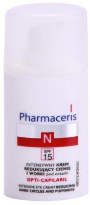 Pharmaceris N-Neocapillaries Opti-Capilaril crema de ochi pentru reintinerire impotriva cearcanelor si ochilor umflati