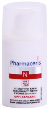 Pharmaceris N-Neocapillaries Opti-Capilaril fiatalító szemkrém a duzzanatokra és a sötét karikákra