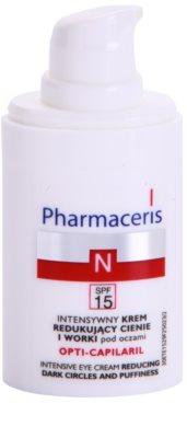Pharmaceris N-Neocapillaries Opti-Capilaril odmładzający krem pod oczy przeciw obrzękom i cieniom 1