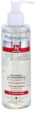 Pharmaceris N-Neocapillaries Puri-Capilium gel limpiador calmante para pieles sensibles y con rojeces