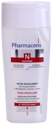 Pharmaceris N-Neocapillaries Puri-Micellar água micelar de limpeza para pele sensível