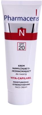 Pharmaceris N-Neocapillaries Vita-Capilaril зволожуючий та зміцнюючий крем для шкіри обличчя для чутливої шкіри схильної до почервонінь