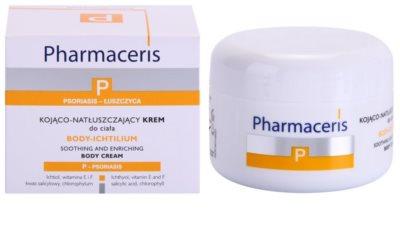 Pharmaceris P-Psoriasis Body-Ichtilium upokojujúci telový krém pri prejavoch lupienky 1