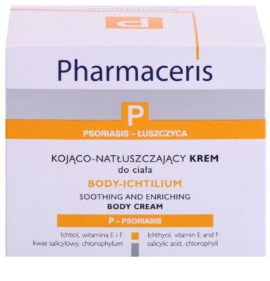 Pharmaceris P-Psoriasis Body-Ichtilium upokojujúci telový krém pri prejavoch lupienky 2