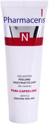 Pharmaceris N-Neocapillaries Puri-Capeeling encimski piling za obnovo površine kože