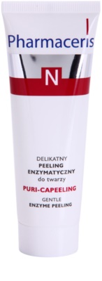 Pharmaceris N-Neocapillaries Puri-Capeeling enzymatický peeling pro obnovu povrchu pleti