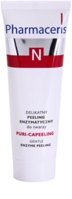 Pharmaceris N-Neocapillaries Puri-Capeeling peeling enzimatic pentru definirea pielii