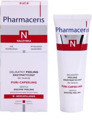 Pharmaceris N-Neocapillaries Puri-Capeeling ензиматичен пилинг за възобновяване на повърхността на кожата 1
