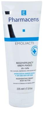 Pharmaceris E-Emoliacti Manteiga corporal regeneradora para pele seca a muito seca