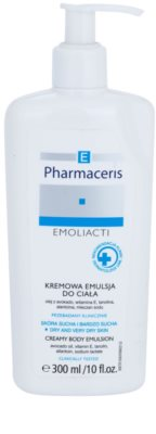 Pharmaceris E-Emoliacti kremasta emulzija za občutljivo kožo