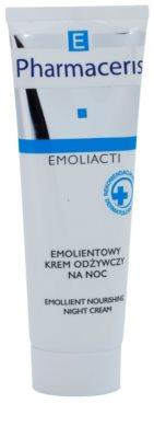 Pharmaceris E-Emoliacti nährende Nachtcreme zur Beruhigung und Stärkung empfindlicher Haut