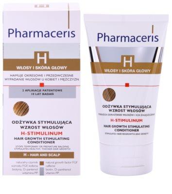 Pharmaceris H-Hair and Scalp H-Stimulinum condicionador para renovar crescimento capilar 1
