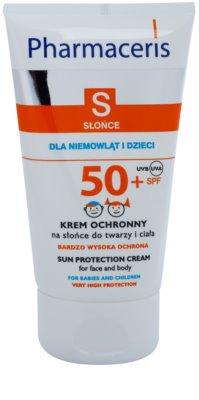 Pharmaceris S-Sun crema de protectie pentru copii SPF 50+
