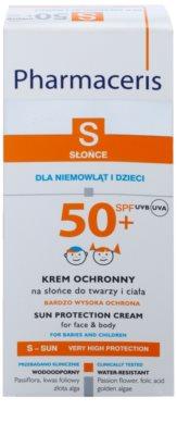 Pharmaceris S-Sun creme protetor para crianças SPF 50+ 2