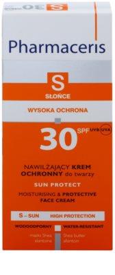 Pharmaceris S-Sun vlažilna in zaščitna krema SPF 30 2