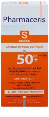 Pharmaceris S-Sun Hydrolipid-Schutzcreme SPF 50+ 2