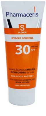 Pharmaceris S-Sun ochranné tělové mléko s hydratačním účinkem SPF 30