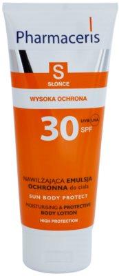 Pharmaceris S-Sun zaščitni losjon za telo z vlažilnim učinkom SPF 30