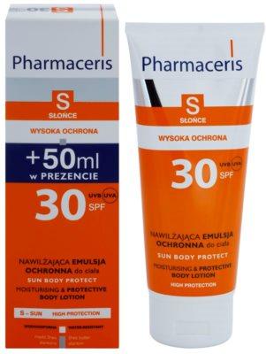 Pharmaceris S-Sun ochranné tělové mléko s hydratačním účinkem SPF 30 1