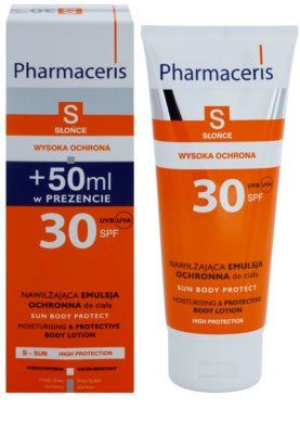 Pharmaceris S-Sun leche protectora corporal con efecto hidratante SPF 30 1