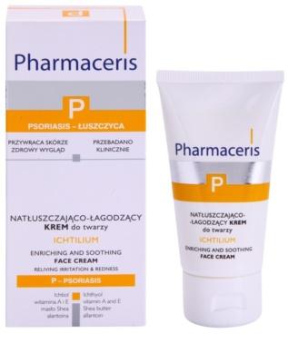 Pharmaceris P-Psoriasis Ichtilium Crema de fata cu efect calmant 1