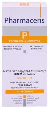 Pharmaceris P-Psoriasis Ichtilium pikkelysömör megnyilvánulásaira való nyugtató arckrém 2