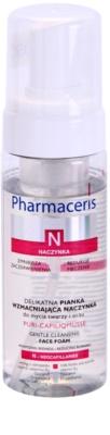 Pharmaceris N-Neocapillaries Puri-Capiliqmousse spuma de curatare impotriva rosetii si a vizibilitatii venelor