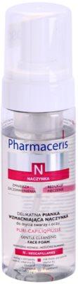 Pharmaceris N-Neocapillaries Puri-Capiliqmousse пяна за почистване и премахване на грим за разширени и спукани капиляри