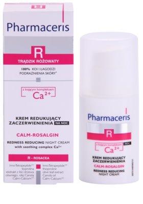 Pharmaceris R-Rosacea Calm-Rosalgin нічний заспокоюючий крем для чутливої шкіри схильної до почервонінь 2
