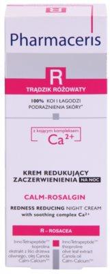 Pharmaceris R-Rosacea Calm-Rosalgin нічний заспокоюючий крем для чутливої шкіри схильної до почервонінь 3