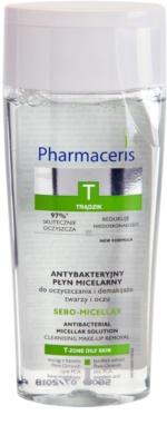 Pharmaceris T-Zone Oily Skin Sebo-Micellar apa pentru  curatare cu particule micele pentru ten acneic