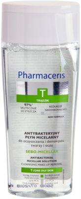 Pharmaceris T-Zone Oily Skin Sebo-Micellar micelláris tisztító víz problémás és pattanásos bőrre
