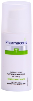 Pharmaceris T-Zone Oily Skin Sebostatic Matt emulsão matificante para pele oleosa propensa a acne