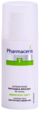 Pharmaceris T-Zone Oily Skin Sebostatic Matt mattierende Emulsion für fettige Haut mit Neigung zu Akne