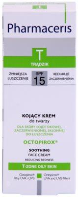 Pharmaceris T-Zone Oily Skin Octopirox crema de zi impotriva inrosirii pentru ten gras si problematic 2