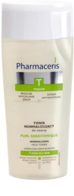Pharmaceris T-Zone Oily Skin Puri-Sebotique tónico de limpeza para pele problemática, acne