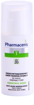 Pharmaceris T-Zone Oily Skin Sebostatic Day денний крем для звуження пор для проблемної шкіри