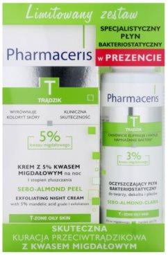 Pharmaceris T-Zone Oily Skin Sebo-Almond Peel set cosmetice I.