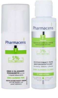 Pharmaceris T-Zone Oily Skin Sebo-Almond Peel lote cosmético I. 1
