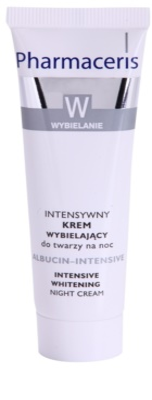 Pharmaceris W-Whitening Albucin-Intesive éjszakai intenzív krém a pigmentfoltokra